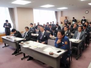 日本維新の会国会議員団 福島視察