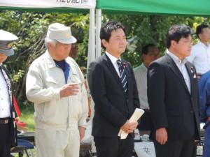 平成25年度会津坂下町総合防災訓練
