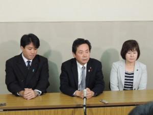 いわき市長選日本維新の会推薦についての記者会見