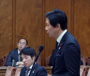 予算委員会 第5分科会 田村厚生労働大臣に質問