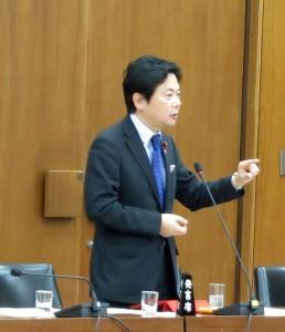 総務委員会/新藤総務大臣に質問