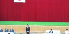 第21回福島県青少年なぎなた錬成大会開会式