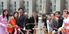 2014年日本・ベトナム友好親善 さくらの記念植樹祭
