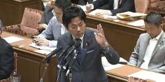 東日本大震災復興特別委員会にて質疑 根本復興大臣と井上環境副大臣に対して石原環境大臣の発言について問う