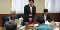 日本維新の会 台風8号及び梅雨前線による被害状況等視察