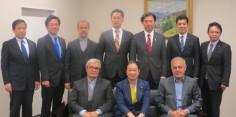 衆議院外務委員会理事の一員として、イラン国会国家安全保障・外交委員会委員との懇談
