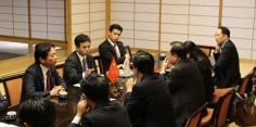 日中次世代交流委員会 中国大使館の皆様との朝食会