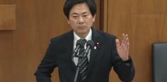 東日本大震災復興特別委員会で質疑/竹下復興大臣に質問