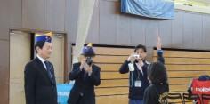 第4回会津若松L.C杯ミニバスケットボール大会開会式