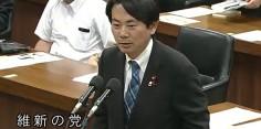 内閣委員会/菅官房長官に質問