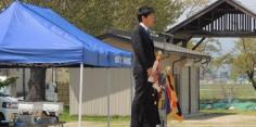 平成27年度湯川村消防団春季検閲式