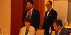 日本・スリランカ友好議員連盟とマンガラ・サマラウィーラスリランカ民主社会主義共和国外務大臣との朝食会