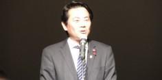 会津北部土地改良区理事長穴澤晃福島県土地改良事業団体連合会副会長就任祝賀会