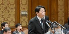 予算委員会 官房長官、復興・環境・国土交通・経済産業大臣、東京電力社長に質問