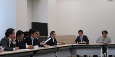 民進党外務防衛合同部門会議/平和外交ヒアリング