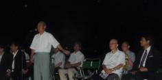 二市一ケ村日橋川「川の祭典」花火大会開会式