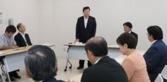 民進党福島県第4区総支部移動政調会/湯川村