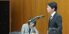 外務委員会/河野外務大臣に質問/北朝鮮に対する抗議決議採択