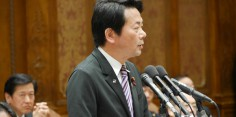 予算委員会/安倍総理大臣、河野外務大臣、江崎消費者食品安全担当大臣に質問