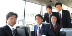 希望の党復興推進本部福島視察 東京電力第一原子力発電所視察