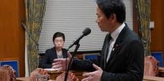 予算委員会第2分科会/野田総務大臣に質問