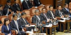 参議院 政治倫理の確立及び公職選挙法改正に関する特別委員会/法案提出者として出席