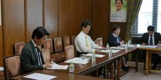希望の党 経済再生・地域活性化部会/鉄道軌道整備法の一部を改正する法律案についてヒアリング
