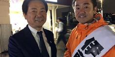 立川市議会議員選挙 伊藤大輔候補者の街頭演説応援