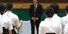 第71回福島県総合体育大会・なぎなた競技会開会式