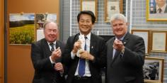 カナダ日本国会議員連盟共同議長一行との意見交換