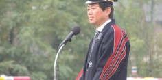 会津若松市消防団秋季検閲式