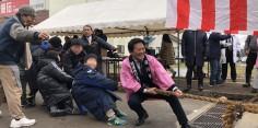 第27回塩川初市開運舟引き祭り