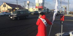 朝の街頭演説/2017年総選挙後辻立71回目