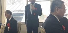 渡邊雅旺先生・小堀貞先生受賞祝賀会