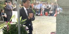 第16回新選組まつり 斎藤一忌 墓前祭