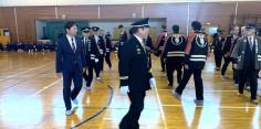 会津坂下町消防団・湯川村消防団秋季連合検閲