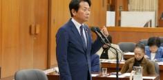 東日本大震災復興特別委員会/田中復興大臣に質問