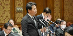 予算委員会/梶山経済産業大臣、小泉環境大臣、茂木外務大臣に質問