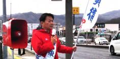 朝の街頭演説/2017年総選挙後辻立102回目