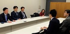 香港区議会議員との意見交換会