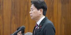 予算委員会/梶山経済産業大臣に質問