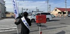 朝の街頭演説/2017年総選挙後辻立133回目