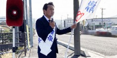 朝の街頭演説/2017年総選挙後辻立150回目