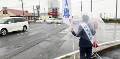 朝の街頭演説/2017年総選挙後辻立153回目