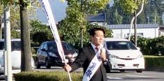 朝の街頭演説/2017年総選挙後辻立155回目